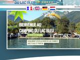 Camping au bord du lac à Annecy
